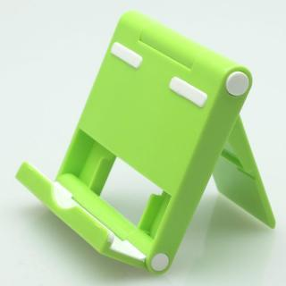 角度調整機能付き タブレットPC用スタンド パディングⅡ グリーン