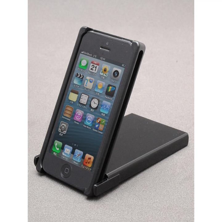 iPhone SE/5s/5 ケース Trick Cover BLACK ヌンチャクケース iPhone SE/5s/5_0