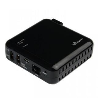 4つの機能が1台に! 充電機能付 Wi-Fi USBリーダー REX-WIFIUSB2 ブラック