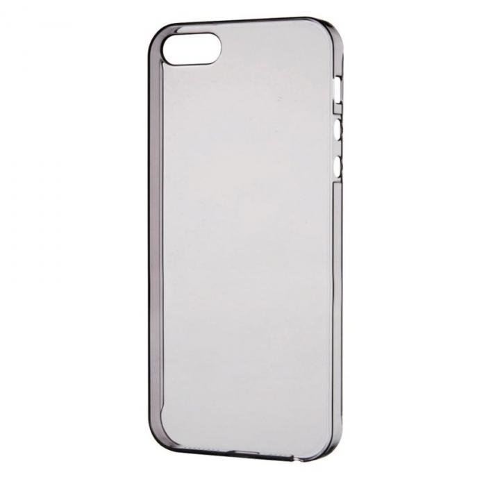 【iPhone SE/5s/5ケース】0.8mm 極み シェルケース ブラック iPhone SE/5s/5ケース_0