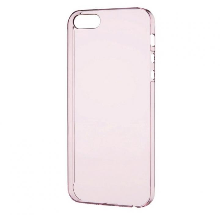 iPhone SE/5s/5 ケース 0.8mm 極み シェルケース ピンク iPhone SE/5s/5ケース_0