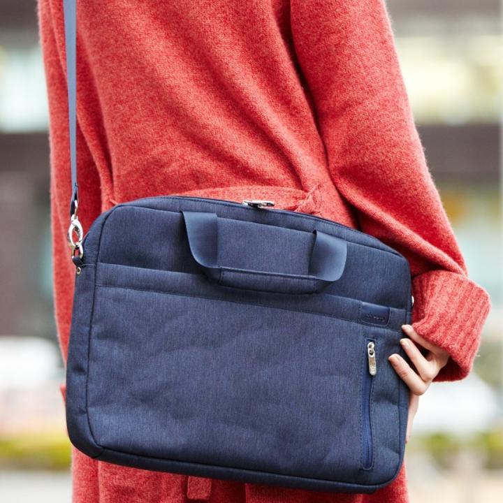 cheero Laptop Bag キャンバス ディープブルー 送料無料