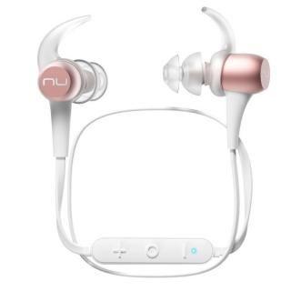Bluetoothワイヤレスイヤホン NuForce/Optoma BE Sport3 ローズゴールド