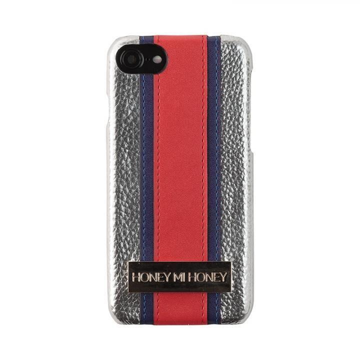 iPhone8/7/6s/6 ケース HONEY MI HONEY LINE IPHONE CASE スマホケース シルバー iPhone 8/7/6s/6_0