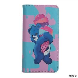 iPhone XS/X ケース LAND by MILKBOY 手帳型ケース ICECREAM GRUMPY BEAR iPhone XS/X