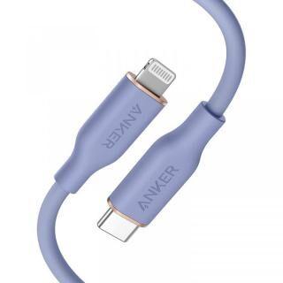 Anker PowerLine III Flow USB-C & ライトニングケーブル 0.9m ラベンダー【3月下旬】