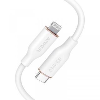 Anker PowerLine III Flow USB-C & ライトニングケーブル 0.9m ホワイト【7月上旬】