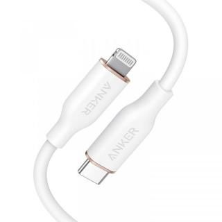 Anker PowerLine III Flow USB-C & ライトニングケーブル 0.9m ホワイト【3月下旬】
