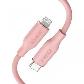 Anker PowerLine III Flow USB-C & ライトニングケーブル 0.9m ピンク【3月下旬】