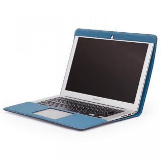 CAVALIERI Primo ドイツ製トゴレザー Macbook Air 13inch Cover アクアブルー
