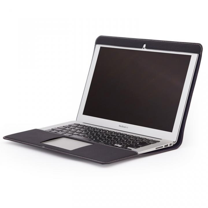 CAVALIERI Primo ドイツ製トゴレザー Macbook Air 13inch Cover ネイビー_0