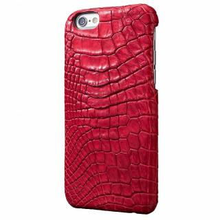 【iPhone6s/6ケース】GRAMAS Meister ポロサスクロコレッグケース レッド iPhone 6s/6