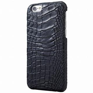 【iPhone6s/6ケース】GRAMAS Meister ポロサスクロコレッグケース グレー iPhone 6s/6