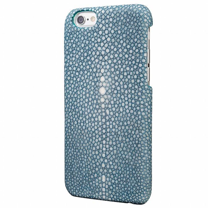 【iPhone6s/6ケース】GRAMAS Meister ガルーシャ レザーケース ブルー iPhone 6s/6_0