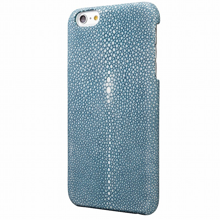 【iPhone6s Plus/6 Plusケース】GRAMAS Meister ガルーシャ レザーケース ブルー iPhone 6s Plus/6 Plus_0