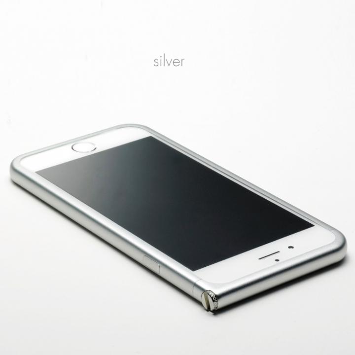 【iPhone6 Plusケース】アルミバンパー U Nook(ヌーク) シルバー iPhone 6 Plus_0