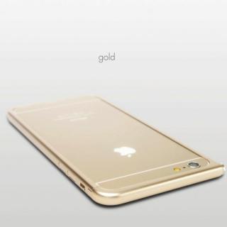 【3月中旬】アルミバンパー U Nook(ヌーク) ゴールド iPhone 6 Plus