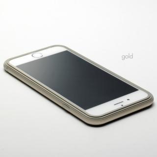 【3月中旬】アルミバンパー U layer(レイヤー) ゴールド iPhone 6 Plus