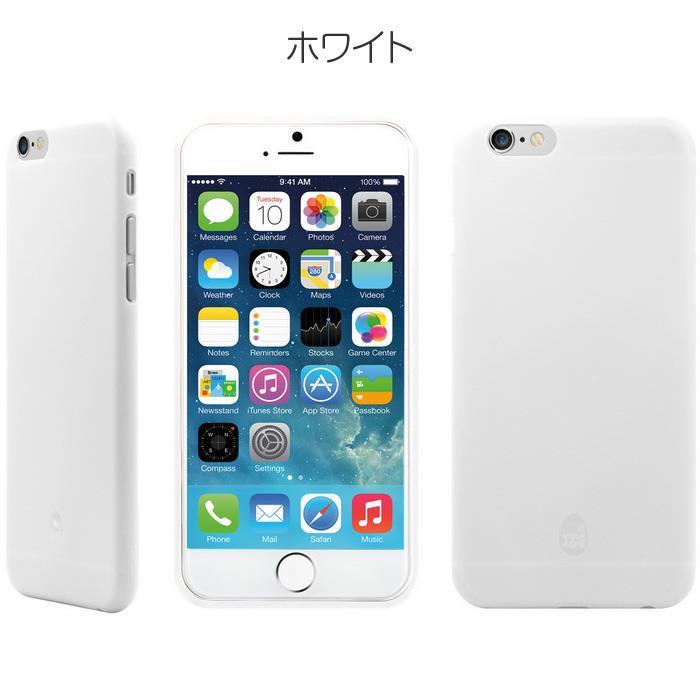 【iPhone6ケース】軽量4g カラーブロックコレクションプロテクションケース ホワイト iPhone 6_0