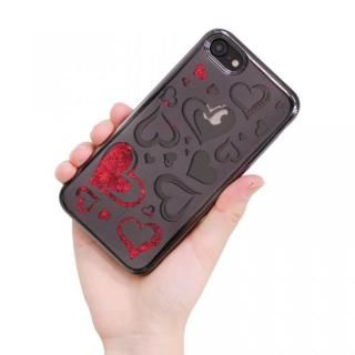 【iPhone8/7ケース】ソフトグリッターケース ハート1 iPhone 8/7_6