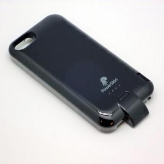 バッテリー内蔵ケース PowerSkin II(ハンマーヘッド) ブラック iPhone SE/5s/5