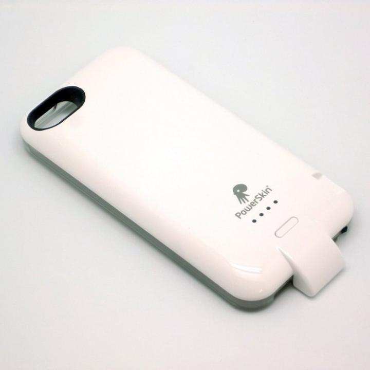 【iPhone SE/5s/5ケース】バッテリー内蔵ケース PowerSkin II(ハンマーヘッド) ホワイト iPhone SE/5s/5_0