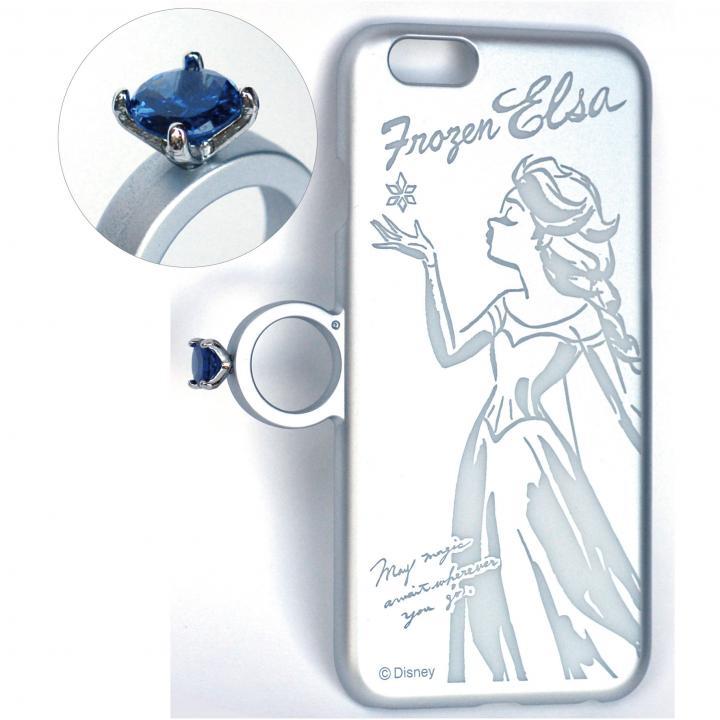 指輪の付いたiPhone 6ケース ジュエルフォン ディズニー エルサ
