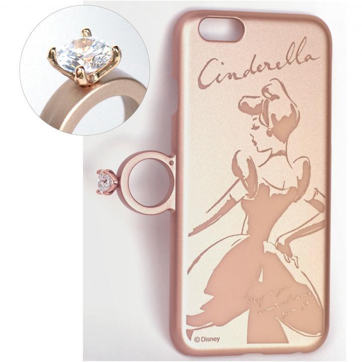 指輪の付いたiPhone 6ケース ジュエルフォン ディズニー シンデレラ