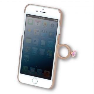 【iPhone6ケース】指輪の付いたiPhone 6ケース ジュエルフォン ドットゴールド_1