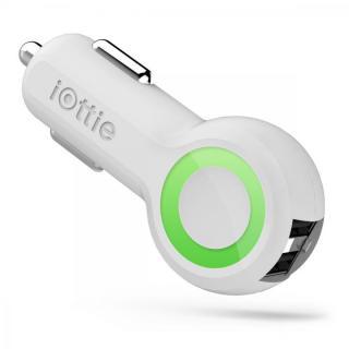 iOttie RapidVolt 2ポート搭載カーチャージャー ホワイト