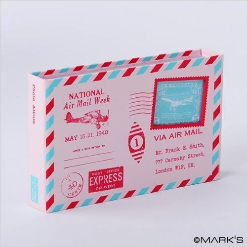 マグネットアルバム・エアメイル/コルソ グラフィア (ピンク)