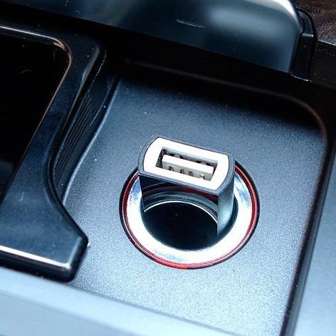 シガーソケット USB Car Charger  USB 1ポート 2.1A(極小モデル)_0