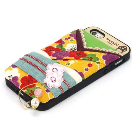 【iPhone SE/5s/5ケース】made in 京都「musubi」:pokke for iPhone SE/5s/5 梅子_0