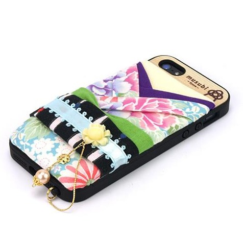 【iPhone SE/5s/5ケース】made in 京都「musubi」:pokke for iPhone SE/5s/5 庭_0