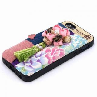 made in 京都「musubi」:fuki-fuki for iPhone SE/5s/5 庭