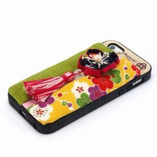 made in 京都「musubi」:fuki-fuki for iPhone SE/5s/5 梅子