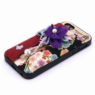 made in 京都「musubi」:fuki-fuki for iPhone SE/5s/5 てふてふ