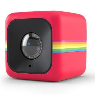 超小型アクションカメラ Polaroid Cube レッド
