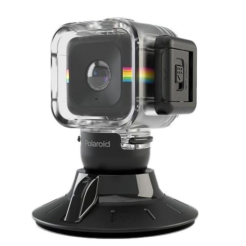 Polaroid Cube用 防水ケース Suction Mount Combo_0
