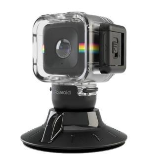 Polaroid Cube用 防水ケース Suction Mount Combo