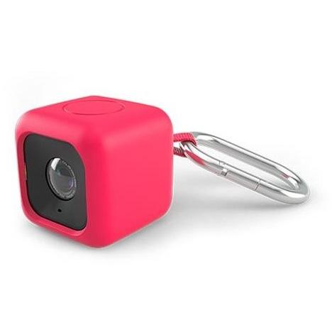 Polaroid Cube用 シリコンケース レッド_0