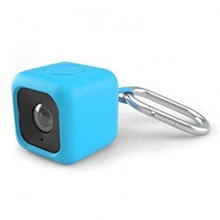 Polaroid Cube用 シリコンケース ブルー