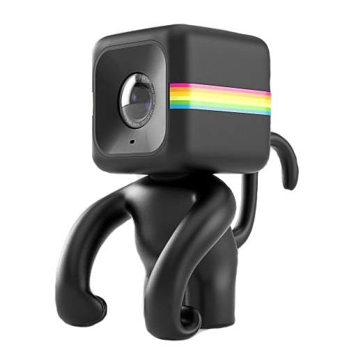 Polaroid Cube用 モンキー型スタンド Mr Monkey Black