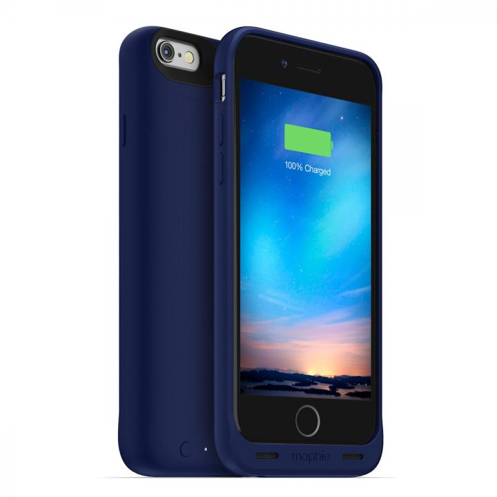 【iPhone6s/6ケース】薄型バッテリー内蔵ケース mophie juice pack reserve ブルー iPhone 6s/6_0