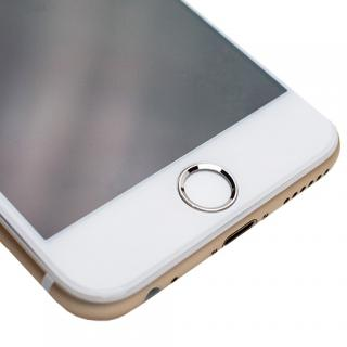 [0.55mm]液晶画面全面保護ゴリラガラス imos ホワイトxシルバー iPhone 6 Plus