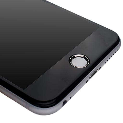 [0.55mm]液晶画面全面保護ゴリラガラス imos ブラック iPhone 6 Plus