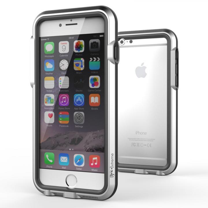 耐衝撃アルミバンパー BricWave Extreme シルバー/ブラック iPhone 6