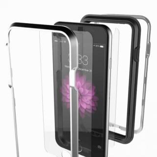 【iPhone6ケース】耐衝撃アルミバンパー BricWave Extreme チャコールグレー/ブラウン iPhone 6_1