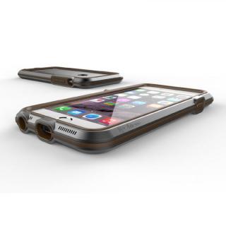 【iPhone6ケース】耐衝撃アルミバンパー BricWave Extreme チャコールグレー/ブラウン iPhone 6_2