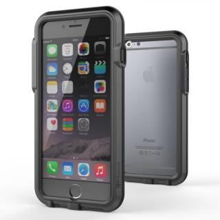 耐衝撃アルミバンパー BricWave Extreme チャコールグレー/ブラック iPhone 6